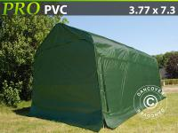 Lagerzelt Zelt Garagen 3, 77x7, 3x3, 24 m PVC Carport Schutz Zeltgarage