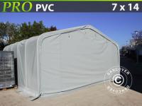 Lagerzelt Garagen PRO 7x14x3, 8 m PVC