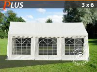 Partyzelt Festzelt 3x6 m PE Pavillon Gartenzelt