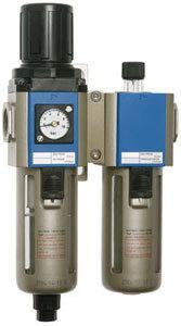 """Wartungseinheit 2-teilig IG 1/4"""" mit Kompaktmanometer"""