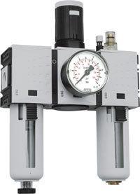 """Wartungseinheit IG 3/8"""" Filter-Regler-Öler 0,5-16 bar - Vorschau"""