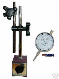 Magnetstativ 280 mm mit Messuhr 0-10 mm / 0,01
