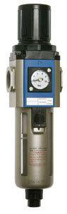 """Druckregler IG 1/4"""" mit eingebautem Manometer 0-10 bar"""