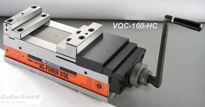 Hydraulikschraubstock 160 mm mit Stufenbacken MC NC 60 kN