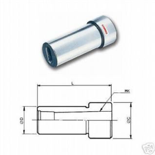 Spannhülse 25 mm zylindrisch für Morsekegel MK1 - Vorschau