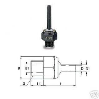 Kühlmitteldüse Hochdruckdüse 3/8 PT 6 x 50 mm - Vorschau