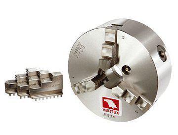 Dreibackenfutter 200 mm Drehbankfutter 2000 rpm/0.03 mm