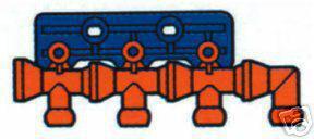 """Kühlmittelschlauch 4Fach Verteilerstation 1/2"""""""