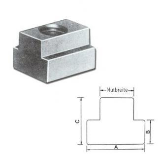 Nutenstein T-Nutenstein M8 x 10 mm DIN 508