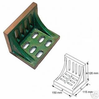 Aufspannwinkel mit Versteifungsrippen 150x126x115 mm - Vorschau