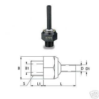 Kühlmitteldüse Hochdruckdüse 1/2 PT 8 x 80 mm - Vorschau
