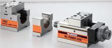 Hydraulikschraubstock 160 mm Backenbreite 3 teilig MC NC 40kN