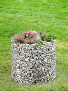 Bellissa Hochbeet Blumentopf 80 x 92 cm Gabionen Gartendeko - Vorschau