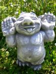 Gnom Troll albern Steinfigur
