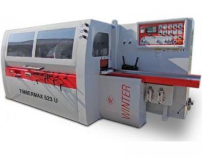 WINTER Vierseitenhobel - Kehlautomat Timbermax 5-23 U