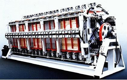 WINTER Block- und Lamellierverleimpresse MH1362D