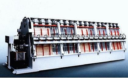 WINTER Block- und Lamellierverleimpresse MH2962x25