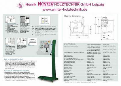 WINTER Vielblattsäge Multimax 340 M2 Optimizing - Vorschau 4