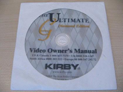Kirby DVD Diamond in Deutsch, Englisch, Italenisch