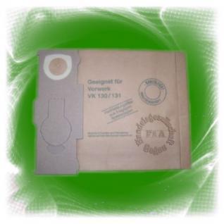 10er Pack Filtertüte / Filter / Staubsaugerbeutel für Vorwerk Kobold 130 / 131