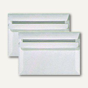 Briefumschlag C6, selbstklebend, 80 g/m², ohne Fenster, weiß, 1000 St., 24051X - Vorschau
