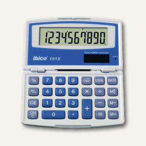 Ibico Taschenrechner 101 X, Solar- und Batteriebetrieb, IB410024