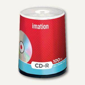 imation CD-R Rohlinge, 700MB, 52x, Spindel, 100 Stück, 18648