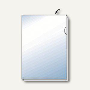 Hetzel Sichthüllen, DIN A4, 135 my, transparent, glatt, 50 Stück, 21780090 - Vorschau
