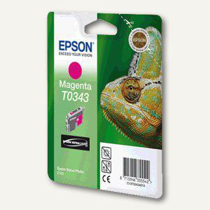 Epson Tintenpatrone T0343, magenta, C13T03434010 - Vorschau