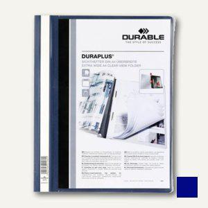 Durable Duraplus Angebotshefter DIN A4, dunkelblau, 25 Stück, 2579-07 - Vorschau