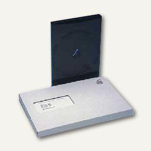 Versandverpackung A5 für 1 DVD, m. Fenster, 230x164x20mm, 50 Stück, 20051-2