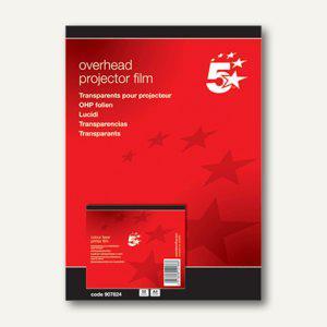 officio Laserfolie DIN A4, 0.125 mm, 50 Folien