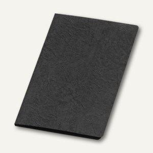 Präsentationsmappe A4, Karton, Klemmschiene, bis 30 Blatt, schwarz, 10 St., 4942 - Vorschau