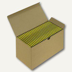 Versandkarton Blitzbox CD25 für 25 CDs in Jewelbox, braun, 20 Stück, 5200250 - Vorschau