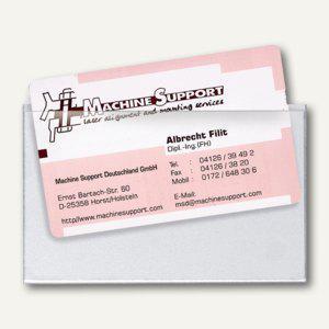Visiten-/Scheckkartentasche, 90 x 57 mm, selbstklebend, 100 Stück, 2209100 - Vorschau