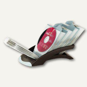 Durable CD/DVD desk, für 50 CDs ohne Jewel Case, schwarz, 5229-01