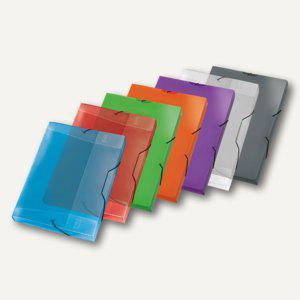 Veloflex Sammelbox Viquel PROPYGLASS, DIN A4, PP, H30mm, sort., 12 St., V021383 - Vorschau