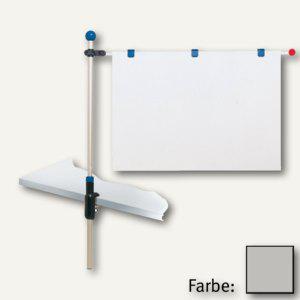 MAUL Tischpresenter, Höhe bis 1.20 m, für DIN A1, grau, 6255084 - Vorschau