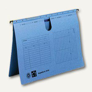 officio Hängehefter, DIN A4, kaufmännische Heftung, blau, 5 Stück - Vorschau