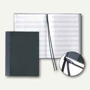 Protokollbuch/Konferenzbuch, DIN A4, 192 Seiten numeriert, schwarz, 8655223