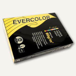 Clairefontaine Papier EVERCOLOR INTENSIV, DIN A4, 80g/m², gelb, 500 Blatt, 40031C - Vorschau