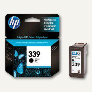 HP Tintenpatrone Nr. 339, schwarz, 21 ml, C8767EE - Vorschau
