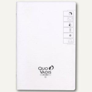 "Quo Vadis ""Prenote"" Adress-/Telefonverzeichnis, 21x29.7cm, Weißschnitt, 716019Q"