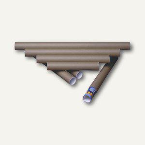 MAILmedia Versandrolle, 500 x 80 mm, braun, 6 Stück, 550037