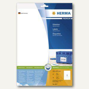 """Herma Universal-Etiketten """"PREMIUM"""", 210 x 297 mm, weiß, 50 Stück, 8637 - Vorschau"""