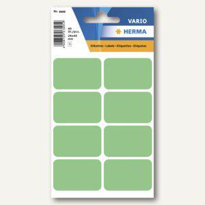 Herma Vielzweck-Etiketten, 26 x 40 mm, grün, 10 x 40 Stück, 3695 - Vorschau