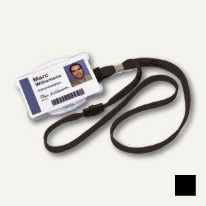 Durable Textilband 10 mit Sicherheitsverschluss, schwarz, 20 Stück, 8119-01 - Vorschau