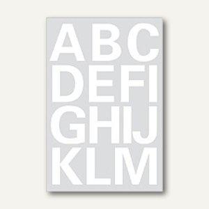 Herma Buchstaben, 25mm, A-Z, Folie wetterfest, weiß, 20 Blätter, 4169 - Vorschau