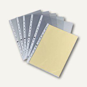 officio Prospekthüllen DIN A4, 120my, glasklar, oben offen, 100 Stück - Vorschau