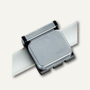 MAUL Magnetclip V, 3.6 x 4 cm, silber, 10 Stück, 6263094